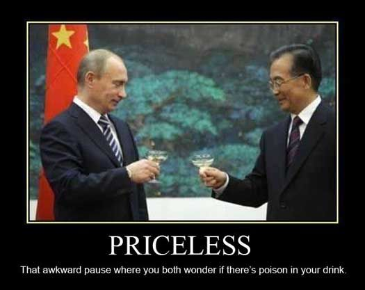 Funny Vladimir Putin Meme Pic - SlightlyQualified.com