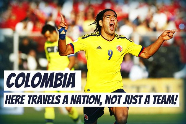 World Cup 2014 slogans - Colombia