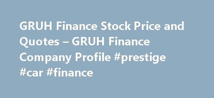 GRUH Finance Stock Price and Quotes – GRUH Finance Company Profile #prestige #car #finance http://finance.remmont.com/gruh-finance-stock-price-and-quotes-gruh-finance-company-profile-prestige-car-finance/  #gruh finance # Stocks Every rally is led by different stocks. Infrastructure, real estate and metals enjoyed a tremendous run in 2003-08, but underperformed in 2008-16. Allotment of shares pursuant to exercise of options under ESOS Gruh Finance Ltd has informed BSE that the Company has on…