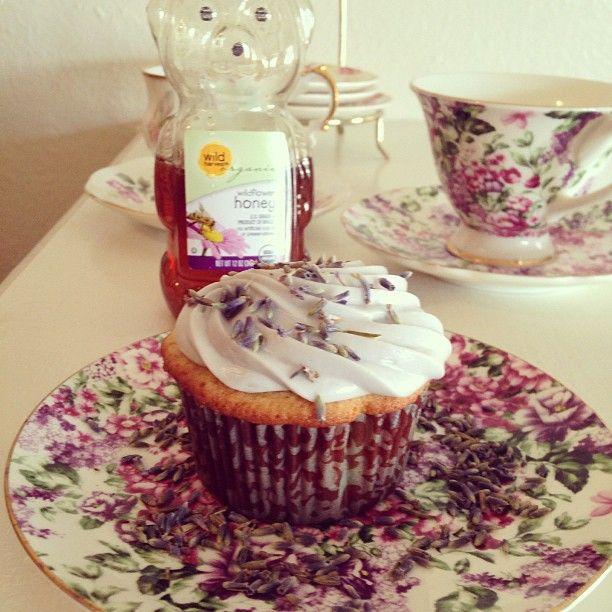 : Honey Lavender Cupcakes | Yum-O! | Pinterest | Lavender Cupcakes ...
