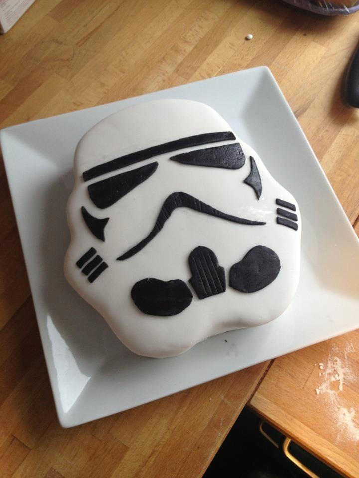 Stormtrooper Cake Cake Pinterest Cakes