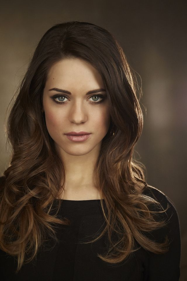 "Lyndsy Fonseca - Alex in ""Nikita"" and the daughter in ""HIMYM""  She can kick major butt though!"