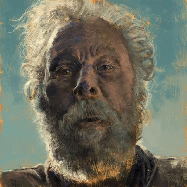 Repost Widlun Hello Mr Pocket Another Portrait Painting Practice