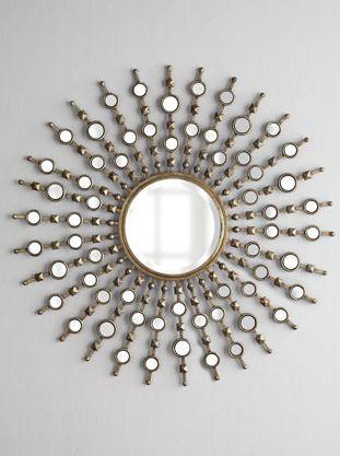 Gorgeous starburst mirror