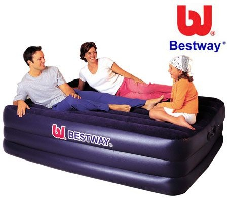 Bestway Queen Size Inflatable Mattress/Air Bed with Built-in Pump $66.95