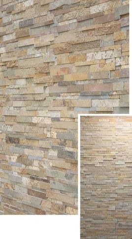 volcanic rock split face for fireplace and wall