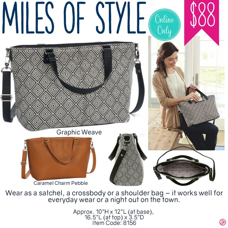 Thirty-One Miles of Style Purse - Spring/Summer 2017