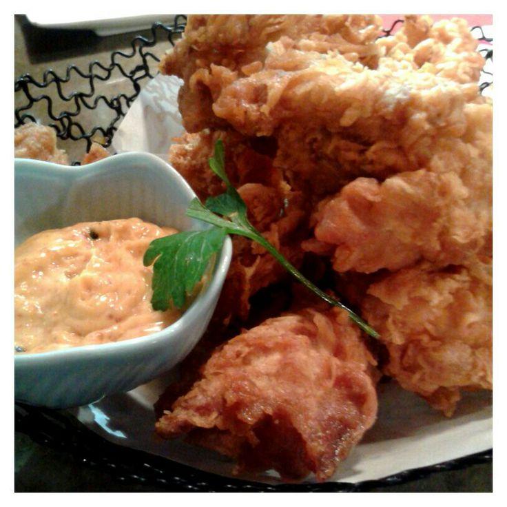 Yummy chicken karaage from Izakaya Kuroki, Chatswood, Sydney