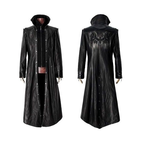 leather trench coats for men ($1,400) ❤ liked on Polyvore featuring mens, men's clothing, men's outerwear y men's coats
