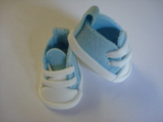 how to make a fondant sneaker