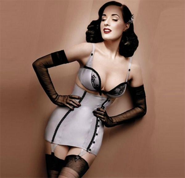 Dita Von Teese New Lingerie Collection...      #ditavonteese #dita #lingerie #sexy #corset #fashion #myer #designer #style #underwear #gloves #news #models