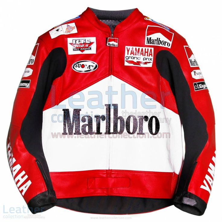 Max Biaggi Marlboro Yamaha GP 2001 Jacket  https://www.leathercollection.com/en-we/max-biaggi-marlboro-yamaha-gp-2001-jacket.html  ##MarlboroYamaha, ##MaxBiaggi, ##Yamahajacket