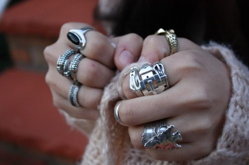 : Belts Buckles, Bling Xoxo, Style, Rings Bling, Chunky Rings, Diamonds Rings, Accessories, Silver Rings, Belts Things