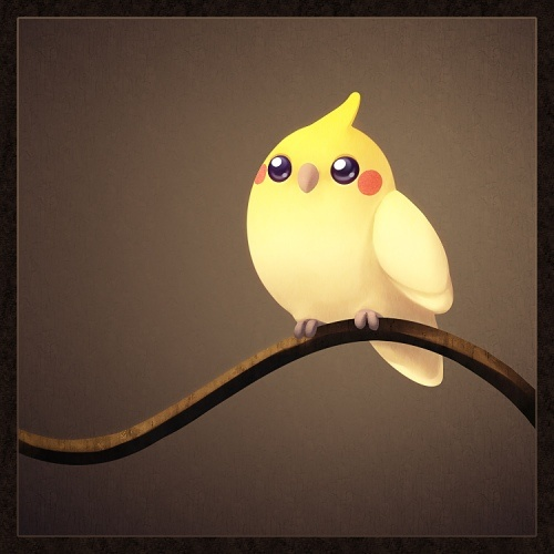 Cockatiel_by_Kikariz