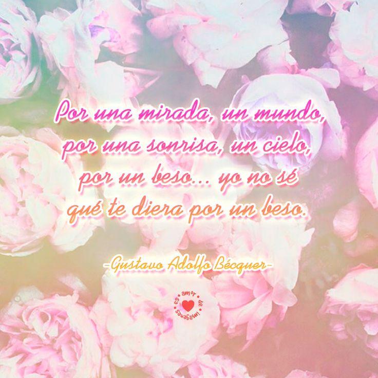 poema-XXIII-de-Gustavo-Adolfo-Becquer-para-enviar-a-mi-pareja | amordeimagenes.es