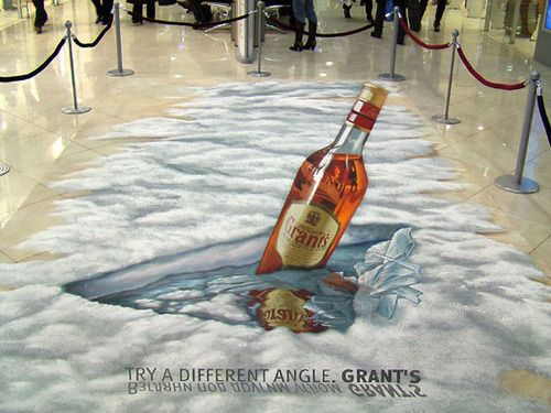 These talented street artists have created great arts of work to trick the eyes of lucky witnesses into seeing 3D objects on a completely 2D environment.