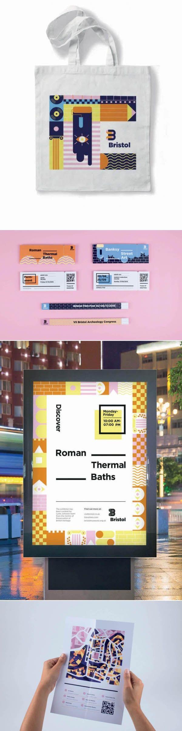 Branding by Bianca Oggiano, Shillington Graduate. More student work --> http://www.shillingtoncollege.com.au/graphic-design-course/student-work #shillington #shillobri #branding #bristol #pattern