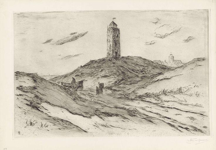 Vuurtoren te Katwijk, Carel Nicolaas Storm van 's-Gravesande, 1869 - 1902