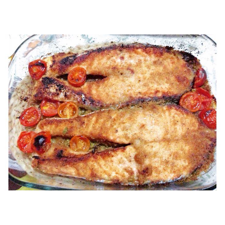 Il mio salmone al forno