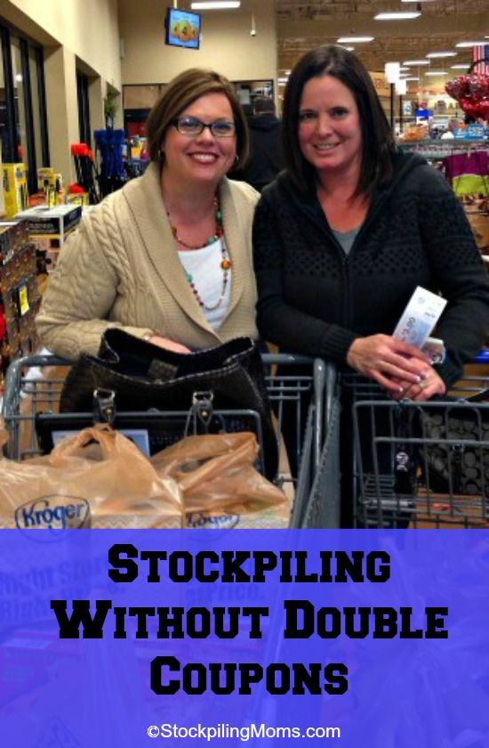 Stockpiling Without Double Coupons #coupons #stockpiling
