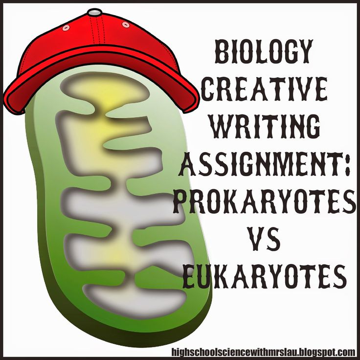 High School Science With Mrs. Lau: A Blast from the Past: A Cell Creative Writing Assignment