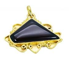 ideal Red onyx Copper Red Pendant jaipur L-1.5in US gift idea
