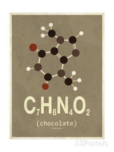 Molecule Chocolate Gicleetryck