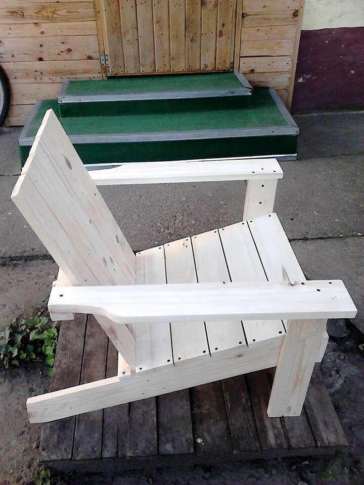 Adirondack Stuhl Aus Paletten hergestellt