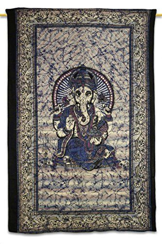 Handicrunch Hippie elefante Tapices colgados de la pared, la India Mandala Tapiz Colcha, dormitorio de Tapices, la pared decorativos colgantes, Tapices para dormitorios