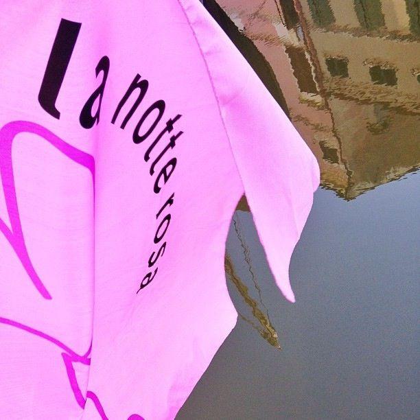 @igersemiliaromagna La notte rosa nei riflessi dei canali di Comacchio