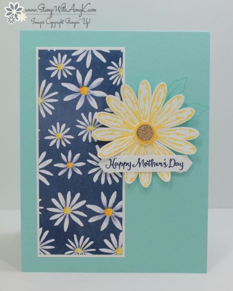 We're back with another Dream Theme Blog Hop! This monthwe're focusing on Mother's Dayprojects and I created a card with the Stampin' Up! Daisy Delightstamp set bundle from the upcoming 2…