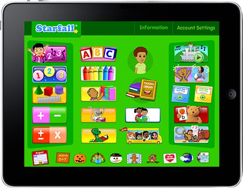 Starfall Education Store Educational apps, Kids app