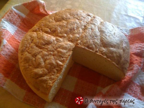 Ψωμί χωριάτικο αληθινό #sintagespareas