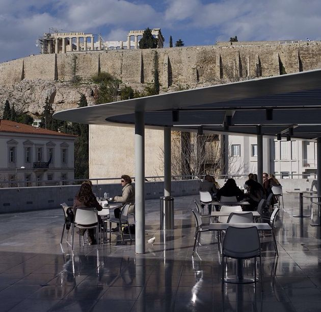 One of the #best #views of #Athens!!! From the #Acropolis #Museum