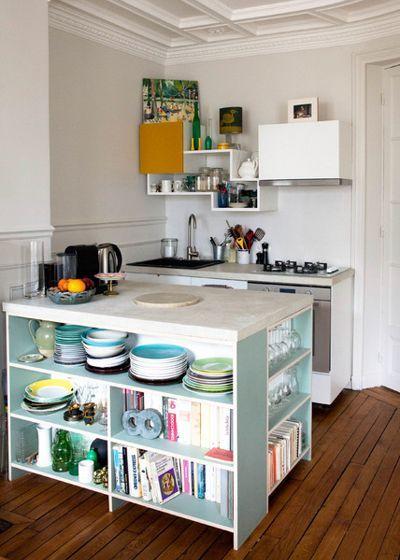 130 best Small living space images on Pinterest - Kleine Küche Optimal Nutzen