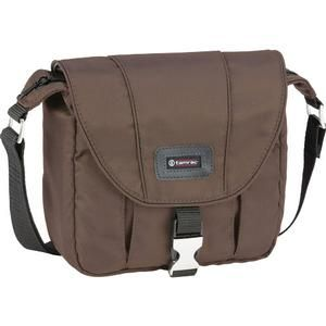 Another great product: Tamrac 5421 Aria 1 Compact / ILC Camera Shoulder Bag (Brown) Tamrac 5421 Aria 1 Compact / ILC Camera Shoulder Bag (Brown) The perfect balance between fashion and function. Like many high-end camera bags  the Tamrac 5421 Aria 1 Compact / ILC Camera Shoulder Bag is made from a rich  smooth  water-resistant nylon fabric that feels like silk. This stylish bag provides discreet protection for a camera and lenses without advertising whats inside. The stylish