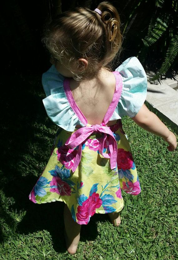 Check out this item in my Etsy shop https://www.etsy.com/listing/217075520/butterfly-tea-dress