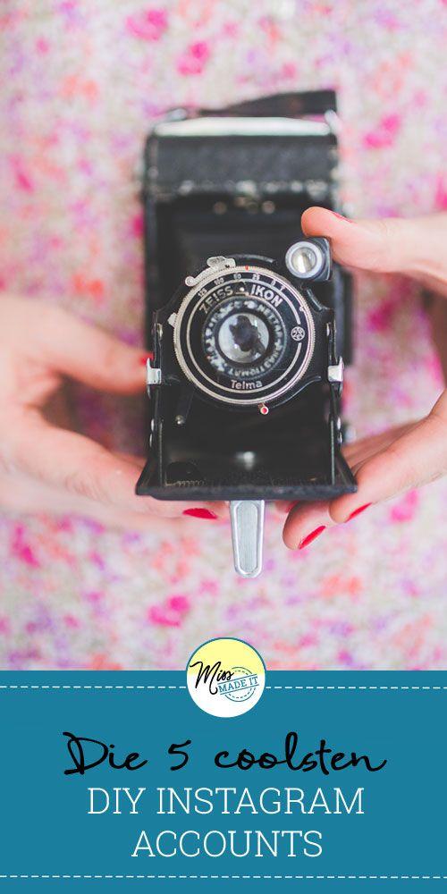 Bei diesen DIY Instagram Accounts solltest du unbedingt den Follow Button drücken