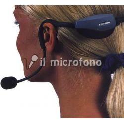 radiomicrofono specifico per fitness:trasmettitore racchiuso nell'archetto senza trasmettitore da tasca.Antisudore!