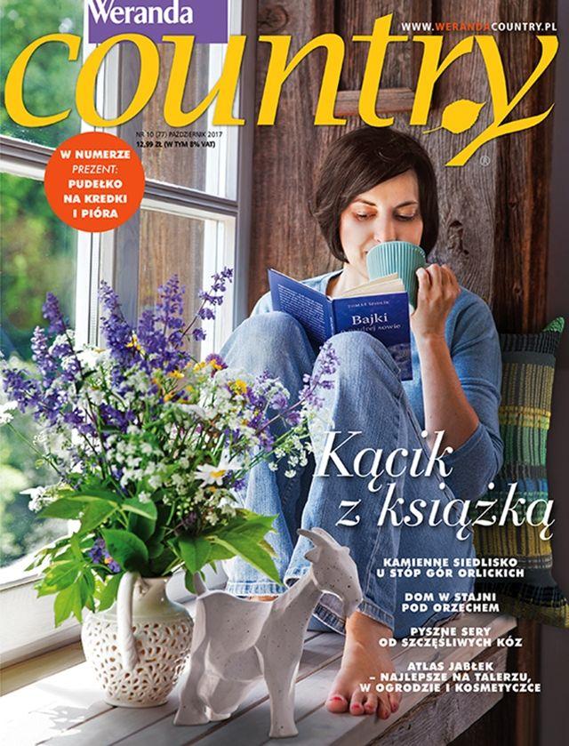 Weranda Country 10/2017 Październik #magazyn #Country #2017