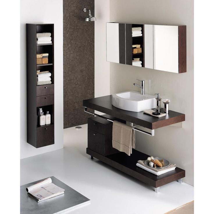 Wall mounted wood countertop with brackets countertop for Wall mounted bathroom countertop