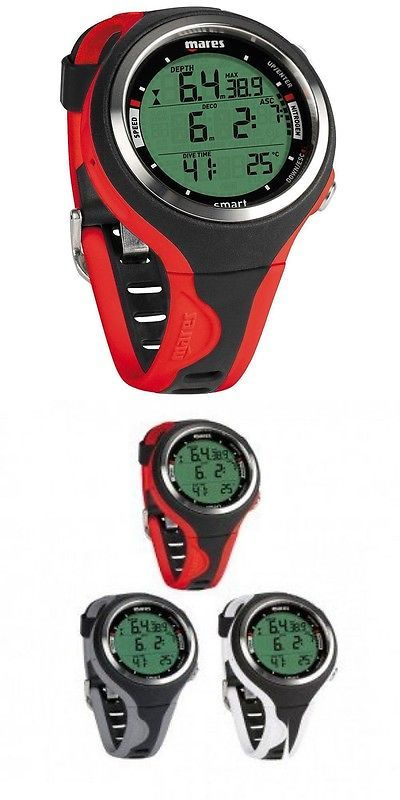 Dive Computers 50882: Mares Dive Computer Smart Scuba Diving Watch Red -> BUY IT NOW ONLY: $315 on eBay!