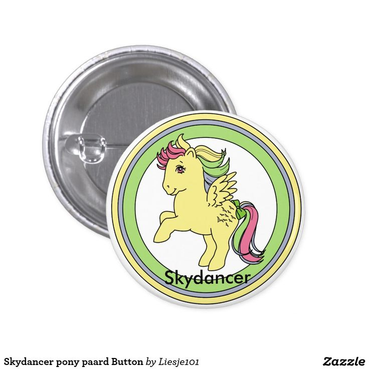 Skydancer my little pony vintage paard Button te koop, for sale