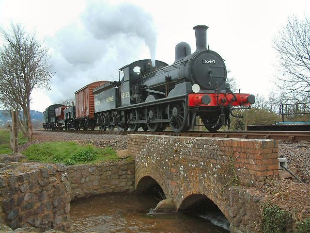 GER J15 with demo freight train - County School railway station - Wikipedia, the free encyclopedia