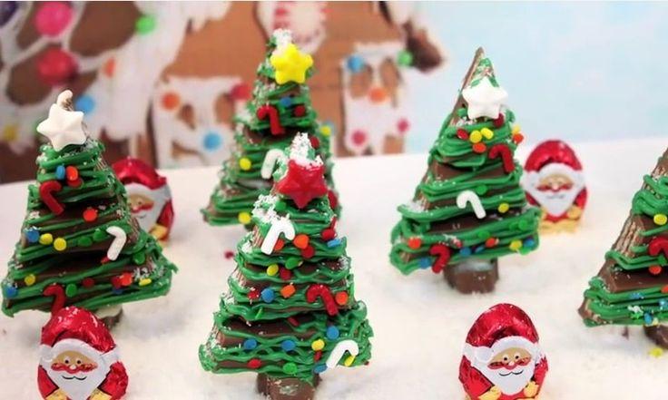 Deze+KitKat+kerstboompjes+zijn+bijna+te+schattig+om+op+te+eten!