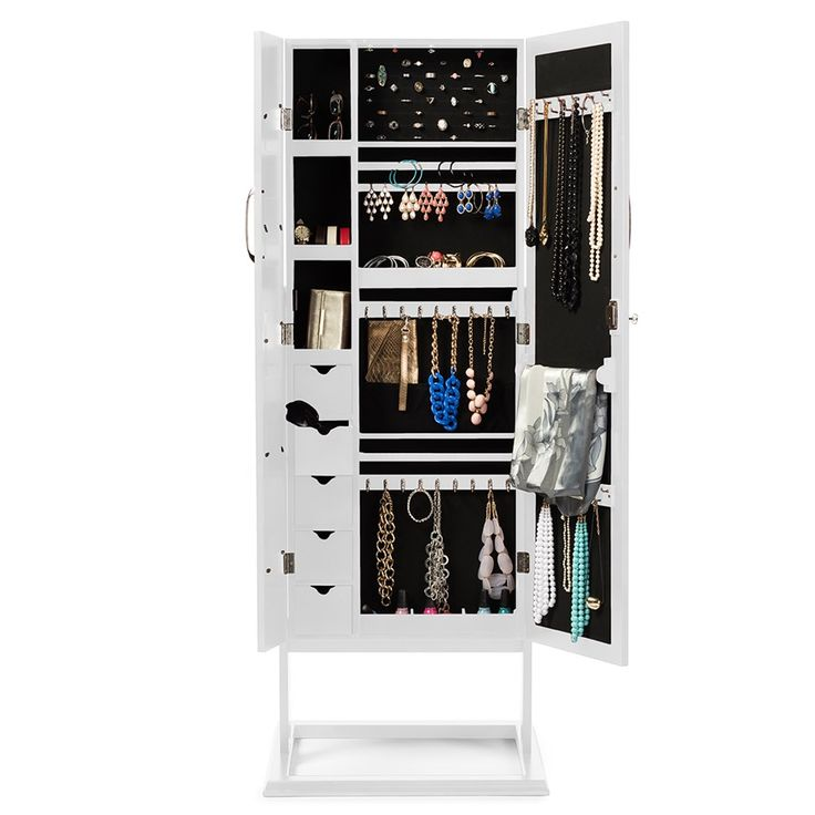 51 Best Wall Mount Jewelry Organizer Images On Pinterest