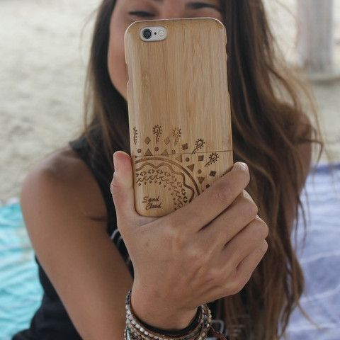 iPhone 6 Bamboo Case. All wood Bamboo iPhone 6 case. Click to shop