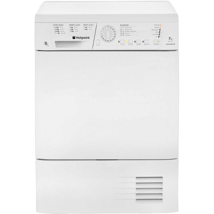 TCHL73BRP_WH | Hotpoint Tumble Dryer | 7kg | Easy Iron | ao.com