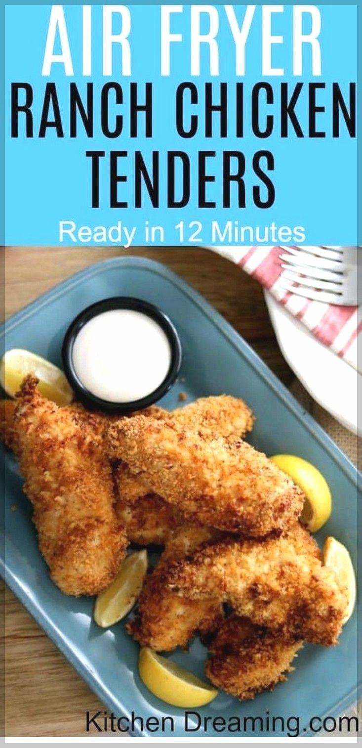 Air Fryer Ranch Chicken Tenders | Air Fryer Recipes