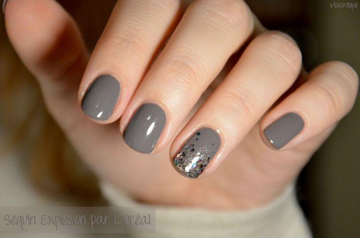 L'accent nails d'hiver version L'Oréal
